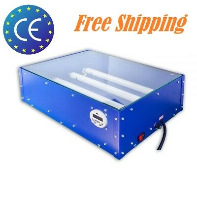 Us 18 X 12 Uv Exposure Unit Screen Printing Plate Making T-shirt Printing 60w