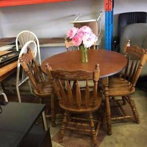 HURRY UP SET DINING TABLE 4 CHAIR JUST $99 AT A.S.F Bentley Canning Area Preview