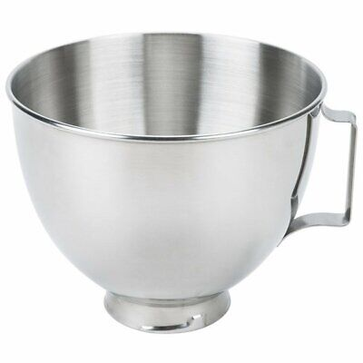 KitchenAid 4.5 Qt Polished Stainless Steel Bowl with Handle K45SBWH for KSM K45