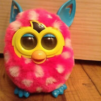 Furby Boom™ Plush Toy Pets - Pink & White
