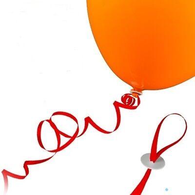 25 St. Luftballon Schnellverschlüsse ( ROT ) für mit Helium gefüllte Luftballon ()