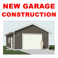 NEW GARAGE CONSTRUCTION