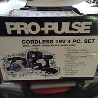 Cordless 4pc set