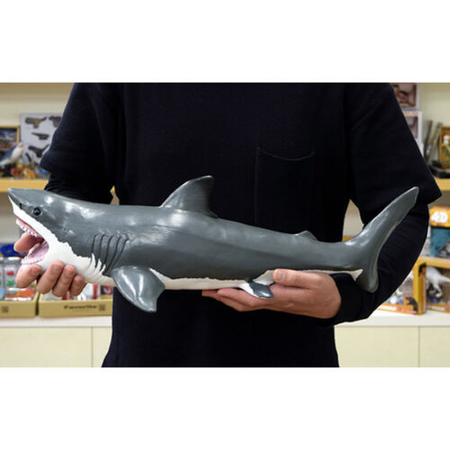 Favorite Great white shark Vinyl Model Premium Edition Big Size Figure Kinto