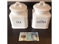 Containers for Tea and Coffee