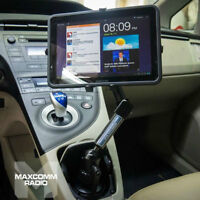 "Carbon Fiber Universal Ipad Tablet Car Mount Cup Holder 7""-11"""