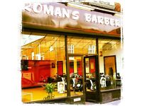 Roman's barbers Southend on sea Essex