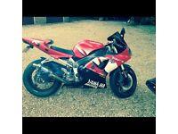 Yamaha r1 2001 ohilins