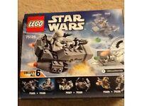 Lego Star Wars Snowspeeder Number 75126 (vgc)