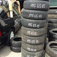 Massive winter tire blow out  take away sale