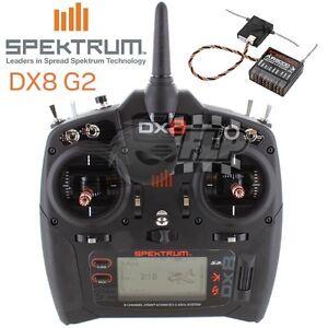Spektrum DX8 Gen 2 Transmitter & AR8000 Receiver Combo SPM8000EU