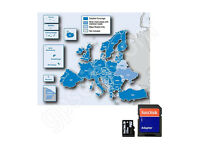 NEW Garmin City Navigator EUROPE & UK 2017 Map Micro SD Card + Speed Cam POI Data