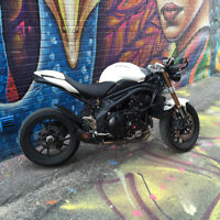 2012 - Triumph Speed Triple - White - Immaculate