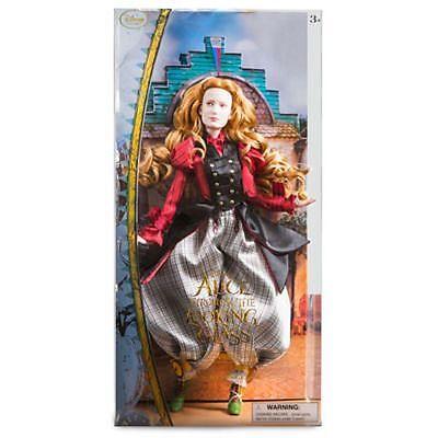 ALICE IM WUNDERLAND, HINTER DEN SPIEGELN: Alice, PUPPE, Disney, 30 cm