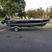 16' Lund with 40hp Evinrude