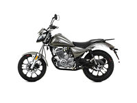 Lexmoto Oregon 125 Motorcycle Flexible Payment Terms & Nationwide Delivery