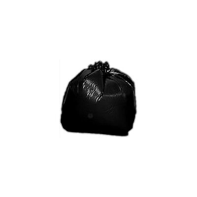 25 Black Bags Heavy Duty Refuse Sacks Super Strong 250g Non-Gusset 30