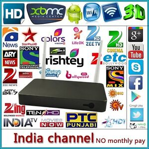 INDIAN IPTV Live Channels SERVICE  with Mag 250(wifi) TV Box