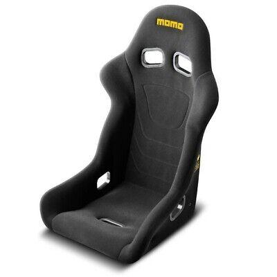 MOMO AUTOMOTIVE ACCESSORIES 1070BLK Start Racing Seat Regular Size Black ()