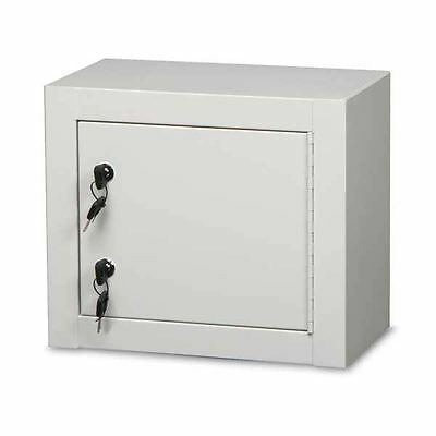 Single Door Double Lock Narcotics Cabinet Baked Enamel 14w X 8d X 12h ...