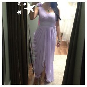 LILAC FORMAL GOWN DRESS