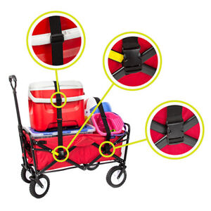 Straps for Wagon designed for Mac Sports Collapsible Folding Wagon