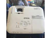 Epson ebx12 projecter with remote and bracket