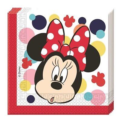 Disney Minnie Mouse Party Servietten Teens Kindergeburtstag Tischdeko Dekoration