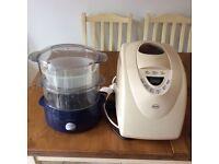 Bread maker& steamer cooker