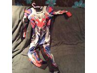 Transfomer Optimus prime costume inc mask age 5-6