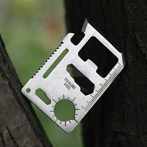 5x Multi Tools 11 in 1 Hunting Outdoor  Camping Military Cre
