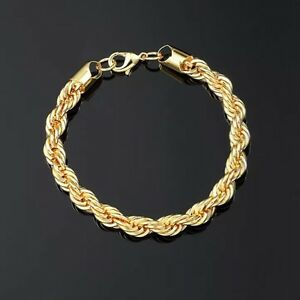 18k gold plated bracelet - bracelet or 18k plaquer
