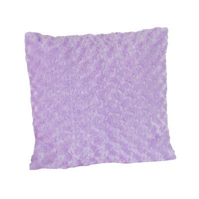 Decorative Kid Accent Throw Pillow Sweet Jojo Purple Minky Swirl Kaylee Bedding - Sweet 16 Purple Decorations