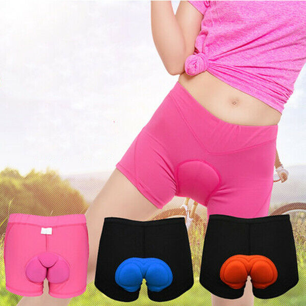 Men Women Cycling Shorts Bicycle Bike Underwear Pants With S