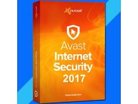 Avast Internet Security 2017 2018 2Years 3pc Support newest Version
