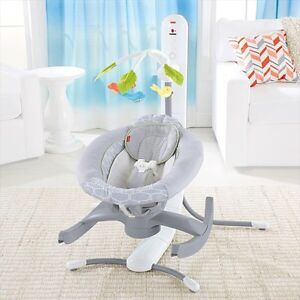 Fisher price 4 in 1 smart connect cradle n swing