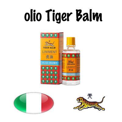 Olio Balsamo di Tigre oil Tiger Balm ORIGINALE Dolori muscolari Artriti Singapor