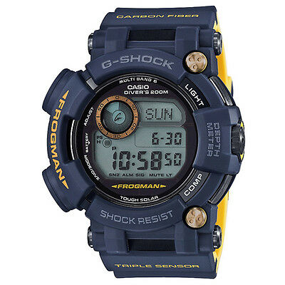 CASIO G-SHOCK FROGMAN Master of G Diver Navy Watch GShock GWF-D1000NV-2 for sale  Shipping to Canada