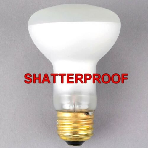 Popcorn Machine Replacement Light Bulb Shatter Proof Coated 50 Watt R20 Lamp