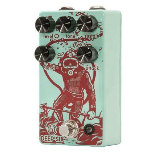 Used Walrus Audio Deep Six V3 Compressor Guitar Effects Pedal