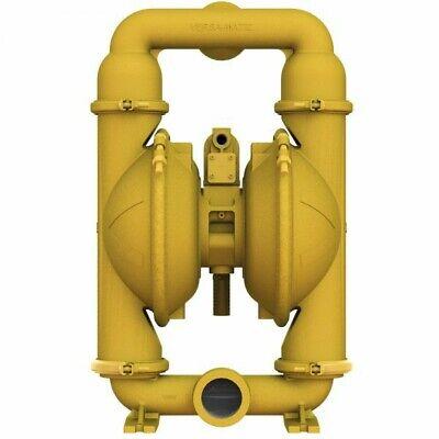 New Versa-matic E2aa2r220c-atex 2 Aluminum Air Double Diaphragm Pump 155 Gpm