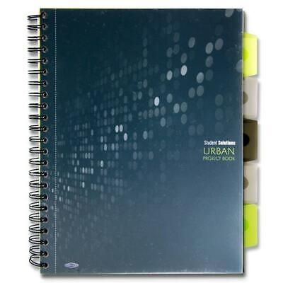 A4 Project Subject Book Wiro 5 Subjects Dividers With Storage Pockets Ruled Page