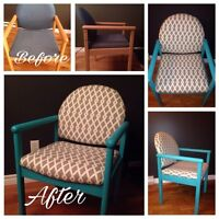 Looking for small upholstery projects