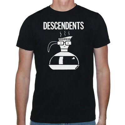 DESCENDENTS Coffee Pot T SHIRT S-M-L-XL-2XL New Official Kings Road Merchandise