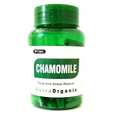 Chamomile Standardized Extract 500mg/90 Capsules Bottle $8.76  for Anxiety (Chamomile Standardized Extract)