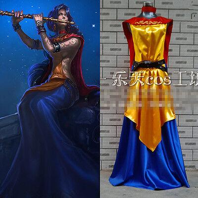 League of legends LOL Starchild Divine Soraka Skin Cosplay Costume Kostüm Custom
