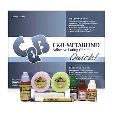 Parkell - Cb Metabond Adhesive Luting Cement - Complete Kit - S380