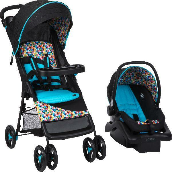 Baby Infant Stroller And Car Seat Travel System Combo Lightweight Safety Comfort