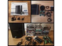 Sony PlayStation 3 boxed with 48 games & accessories
