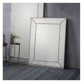 1 x Hoyton Mirror W890 x D20 x H1180mm by Gallery Direct
